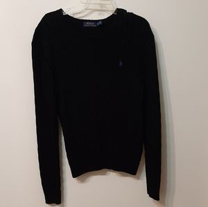 Black cotton Polo by Ralph Lauren sweater